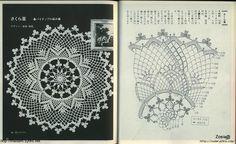 "Photo from album ""Crochet lace on Yandex. Crochet Doily Diagram, Crochet Pillow Pattern, Crochet Doily Patterns, Crochet Mandala, Thread Crochet, Crochet Doilies, Knitting Patterns, Crochet Table Topper, Crochet Tablecloth"