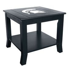 Michigan State Spartans NCAA Side Table