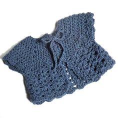 Crochet baby cardigan or sweater