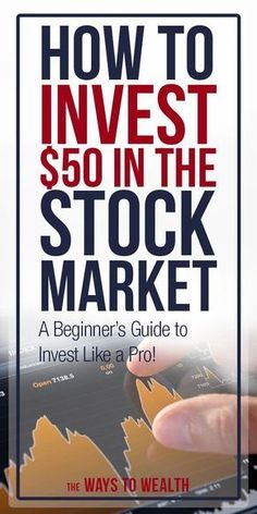 If youre wondering how to invest 50 in the stock market or any small amount for that matter this article can help you get started By the end of this post youre going to h. Stock Market Investing, Investing In Stocks, Investing Money, Real Estate Investing, Stocks To Invest In, Silver Investing, Stocks For Beginners, Stock Market For Beginners, Tips