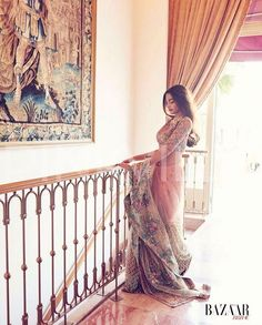 Find images and videos about fashion, bollywood and sonam kapoor on We Heart It - the app to get lost in what you love. Indian Attire, Indian Wear, Bollywood Fashion, Bollywood Actress, Bollywood Style, Indian Dresses, Indian Outfits, Indian Clothes, Women's Dresses