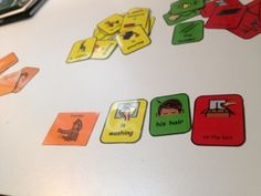 Colorful Semantics - FREE - Use the cards to teach language skills and sentence structure.