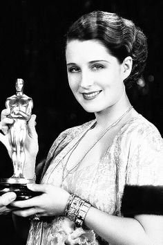"""Norma Shearer, when she won an Oscar for best actress for """"The Divorcee"""",1930. I just loved her movies."""