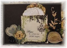 Another page from memory album using Imaginarium Designs Chipboard.