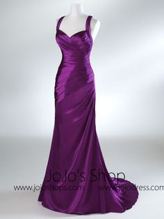 Violet Fit And Flare Graduation Prom Evening Dress from JoJo Dress. Saved to clothes. Beauty Pageant Dresses, Pageant Gowns, Purple Gowns, Purple Dress, Violet Dresses, Bridesmaid Dresses, Prom Dresses, Wedding Dresses, Bridesmaids