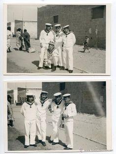 Sahara español, Álbum con 31 fotos mili de un soldado Compañía de Mar del Sahara en el lepanto - Foto 2