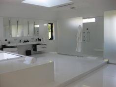 This bathroom is massive! Jennifer Post Design