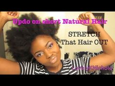10 Easy Updos for Your Short Natural Hair