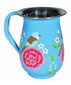 blue rosa palomo jug:::