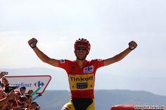 2014 vuelta-a-espana photos stage-20 - Alberto Contador (Tinkoff - Saxo) wins on Puerto de Ancares
