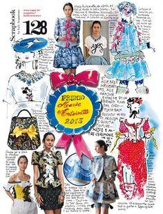 Lele Acquarone, Vogue Italia, May 2013, p.123