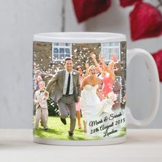 Personalised and engraved wedding gifts for the bride and groom and wedding party members - Fast UK Delivery.