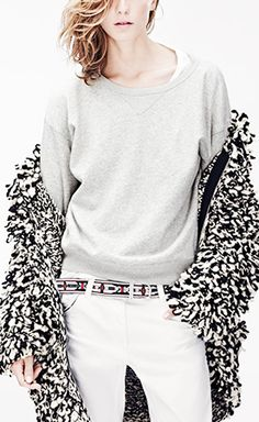 Isabel Marant for H&M Black And White Sweater