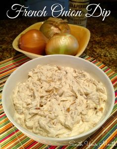Use GF worcestershire sauce and serve with GF crackers, chips or veggies! South Your Mouth: Homemade French Onion Dip