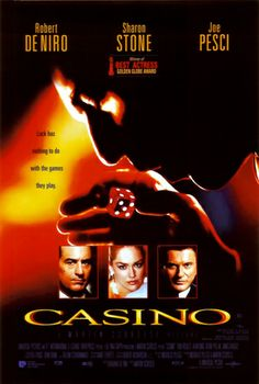 Casino (1995) - Number 93 on the list. I enjoy a good casino movie, so hopefully this one'll be fun to watch!