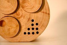 """Green"" Radio-log by Solène Le Goff & Christophe Gouache » Yanko Design"