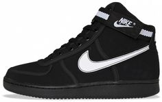 low priced a46d0 569af Nike Vandal High Black White oh, hello there. Air Force ...