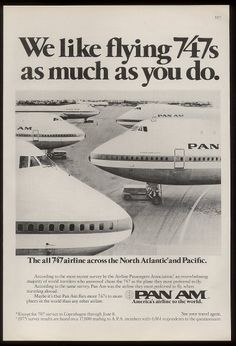 Pan Am Advertisements