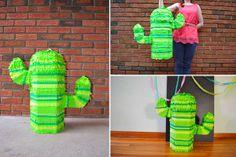 DIY Catus Pinata for Cinco de Mayo