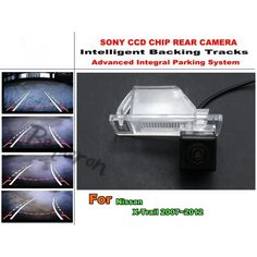 54.20$  Watch now - http://aliv9q.worldwells.pw/go.php?t=32441848963 - For Nissan X-Trail / XTrail / X Trail 2007~2012 Intelligent Car Parking Camera / with Tracks Module Rear Camera CCD Night Vision