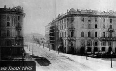 Via Turati - Milano 1895