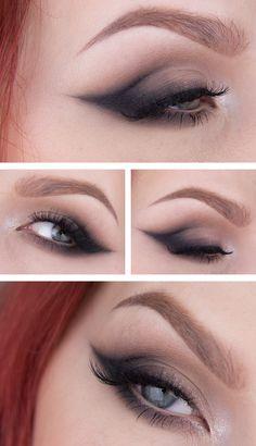 Makeup – Smokey cat eye