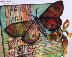 The Artful Maven Haven: CCC3 - Marbled Paints