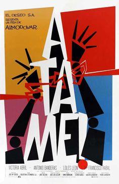 Tie Me Up! Tie Me Down! (Spanish) 11x17 Movie Poster (1990)