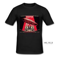 Led Zeppelin T-shirt Slim Fit 100% Cotton Hard Rock Blues Rock Folk Rock Heavy Metal