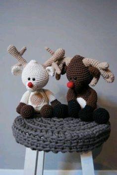 Rudolf & his lady friend
