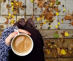 Nice, cool, autumn morning and a cup of coffee :)
