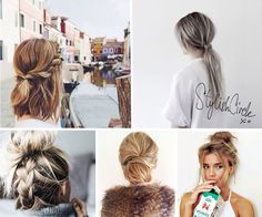 Doing Your Hair Should be Simple and Quick     When you are in hurry but you still want to have an awesome hairstyle you have plenty of easy ideas to choose from.  Creative braids, twist, knots or a simple messy hairstyle will make you look stun