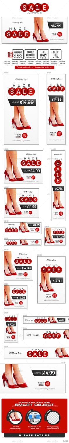 Sales Banners | Download: http://graphicriver.net/item/sales-banners/10425987?ref=ksioks