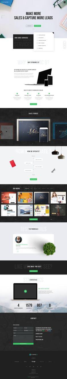 Landing Page Design D9