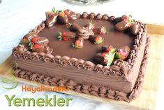 çikolatalı doğum günü pastaları