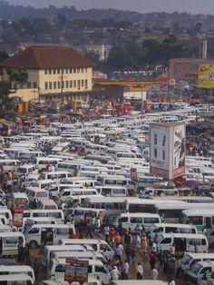 Destination: the World  Uganda, Taxis