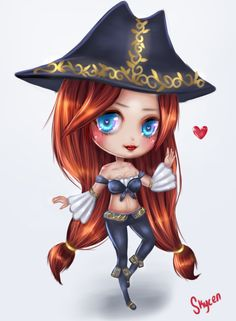 Chibi Miss Fortune by Skycen
