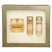 Max Mara Eau De Parfum 3 Pcs Gift Set for Women, EDP 1.4oz Body Wash 1.7oz and Body Serum 1.7oz New in Box. MAX MARA BY MAXMARA 3PC GIFT SET 1.4OZ EDP SPRAY + 1.7OZ MOISTURIZING BODY WASH WITH LINEN SEEDS + 1.7 LIFTING BODY SERUM WITH SILK PROTEINS. NIB 100% AUTHENTIC. Max Mara is the first perfume from the fashion house of Max Mara. Luxurious and complex, just like the woman who chooses to wear it. Max Mara accentuates your style and individuality. Top notes include, citrus, ginger. Lily...