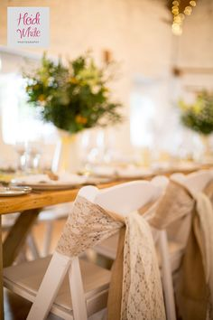 Simple touches help make a wedding truly yours. The Old Barn can be personalized…