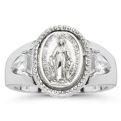 Sterling Silver Miraculous Ring St. Mary Mother of God Si... https://www.amazon.com/dp/B003A70G7W/ref=cm_sw_r_pi_dp_x_Dejlyb0ACKTSX