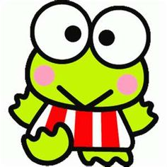 I wish I could still buy Keroppi stuff at Claire's! Now it's so hard to find!