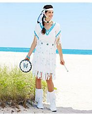 womens native american princess costume