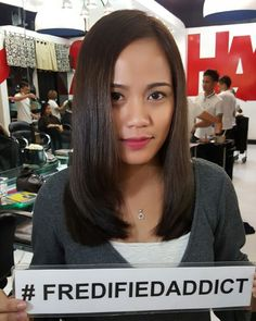 Thank you for visiting us pretty! Enjoy your hair! Certified #fredifiedsmile  You too can get your Dreamhair! Just Call / Viber / Text 0917-6283906  Or visit www.fredified.com www.facebook.com/fredigodfather to make an appointment.  You may also visit us at 3rd Level The Podium Mall ADB Avenue Ortigas Center Mandaluyong City  Follow our official social media accounts! @hairshaftsalon @hairshaftsalonglorietta  @hairshaftpodium @hairshaftsalonfort @hairshaftrobmanila #fredified…