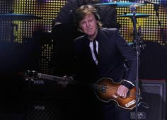 July 16, 2013 Paul McCartney gives fans more than two hours of classic rock Tuesday night at Miller Park.