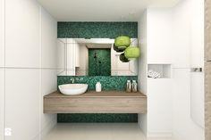 Zielona mozaika - zdjęcie od design me too - Łazienka - Styl Minimalistyczny - design me too