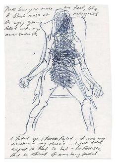Tracey Emin, Thats how you make me Feel, 2012 Kunst Inspo, Art Inspo, Tracey Emin Art, A Level Art, Portraits, Art For Art Sake, Gravure, Art Fair, Artist Art