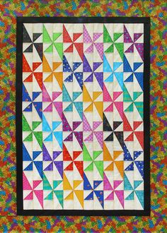 Fanfare Quilt pattern by Deb Tucker of Studio 180 Design. Uses Studio 180 Design's Split Rects and Tucker Trimmer tools. Star Quilts, Scrappy Quilts, Quilt Blocks, Baby Quilts, Antique Quilts, Vintage Quilts, Quilting Projects, Quilting Designs, Quilting Ideas