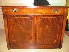 Beautiful Vintage SAGINAW Furniture Company Telescoping Buffet Table Expand O Matic