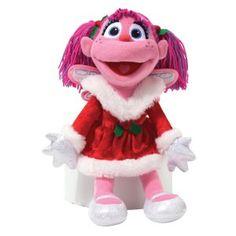 GUND Sesame Street Holiday Abby Cadabby Stuffed Animal 4036387 for sale online Plush Dolls, Doll Toys, Sesame Street Christmas, Sesame Street Toys, Realistic Stuffed Animals, Abby Cadabby, The Muppet Show, Elmo, Christmas Holidays