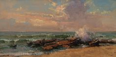 Evening Surf by Kathryn Stats - Greenhouse Fine Art
